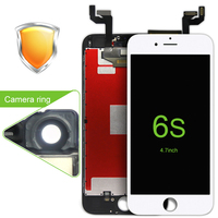 2pcs DHL High Quality Black White 4 7 Replacement Part For Iphone 6S Lcd Screen Display