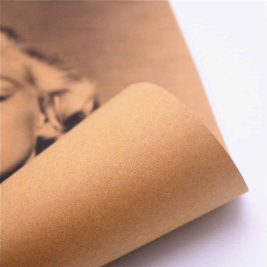 Винтажный сексуальный Мэрилин Монро классический фото плакат для кафе бар Домашний Декор Бумага для поделок в стиле ретро Наклейка на стену живопись фмд 42,5x30,5 см