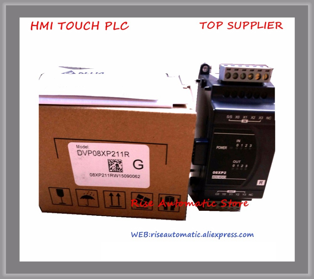все цены на Delta PLC Extension Module 8 point 4DI 4DO Relay DC power DVP08XP211R 100% test good quality онлайн