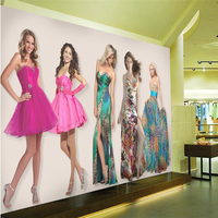 beibehang Large wallpaper mural custom any size beauty salon make-up shop lip sexy red lip bar nightclub background wallpaper