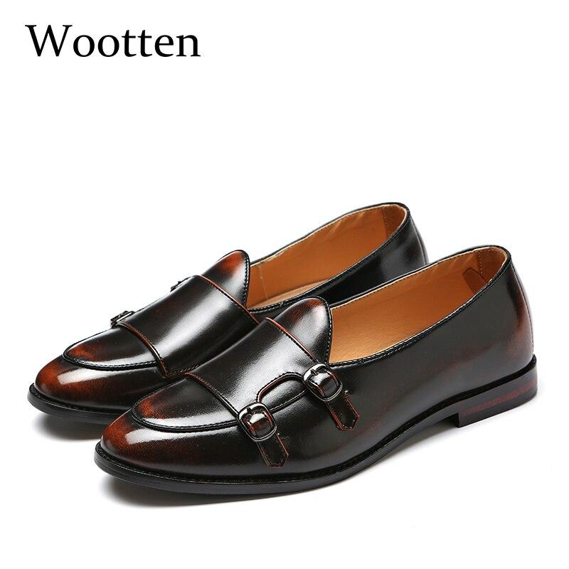 Herren schuhe casual plus größe leder luxus designer sozialen fahren marke erwachsene mode kleid mokassins männer loafers #202