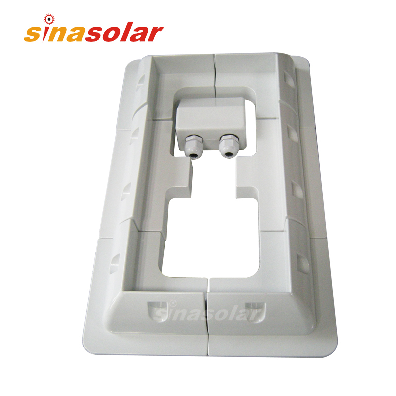 Special Price White ABS Solar Panel Mounting Bracket System For Caravan Motorhome RV energy efficient system for solar panel