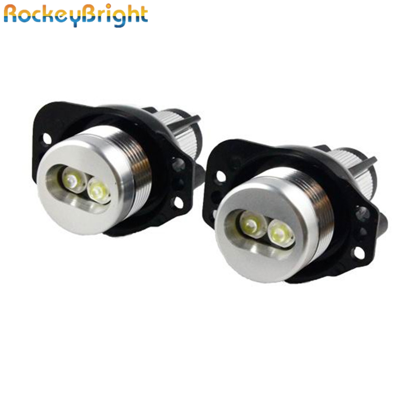 Rockeybright E90 E91 12W LED Angel Angel Marker Light Bulbs for E90 - أضواء السيارة