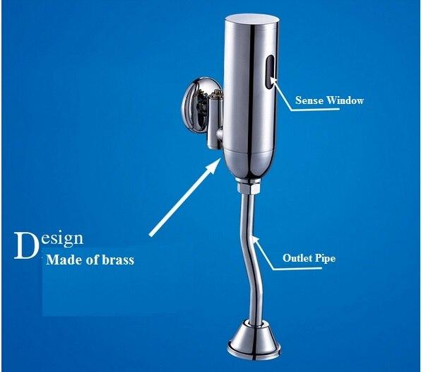 Sensor Urinal Válvula de Descarga automática Para Homens alimentado por bateria de Lavatório Do Banheiro sanitário automático