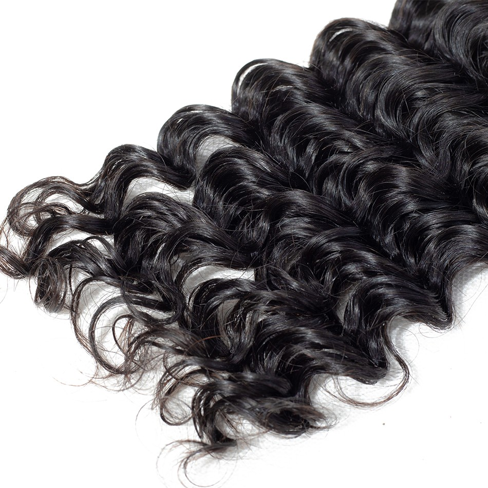 deep wave human hair bundles selling