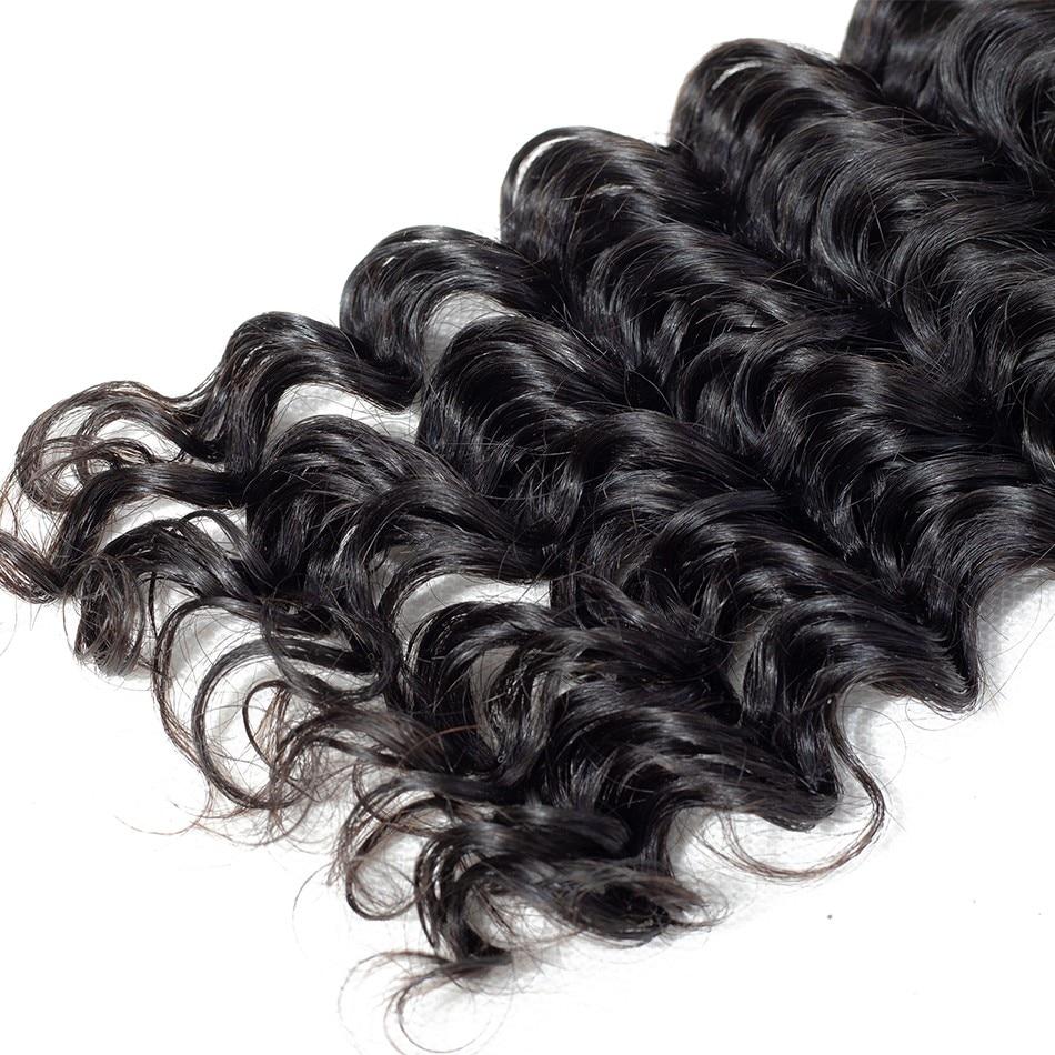 deep wave human hair bundles selling