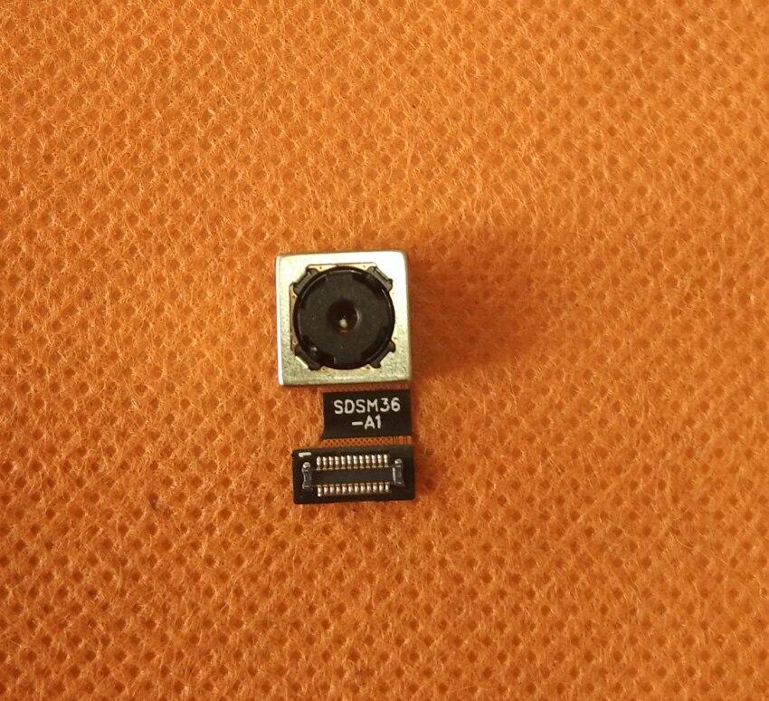 Original Photo Rear Back Camera 13.0MP Module for Doogee Y6 Piano Black 5.5'' HD MTK6750 Octa Core Free shipping
