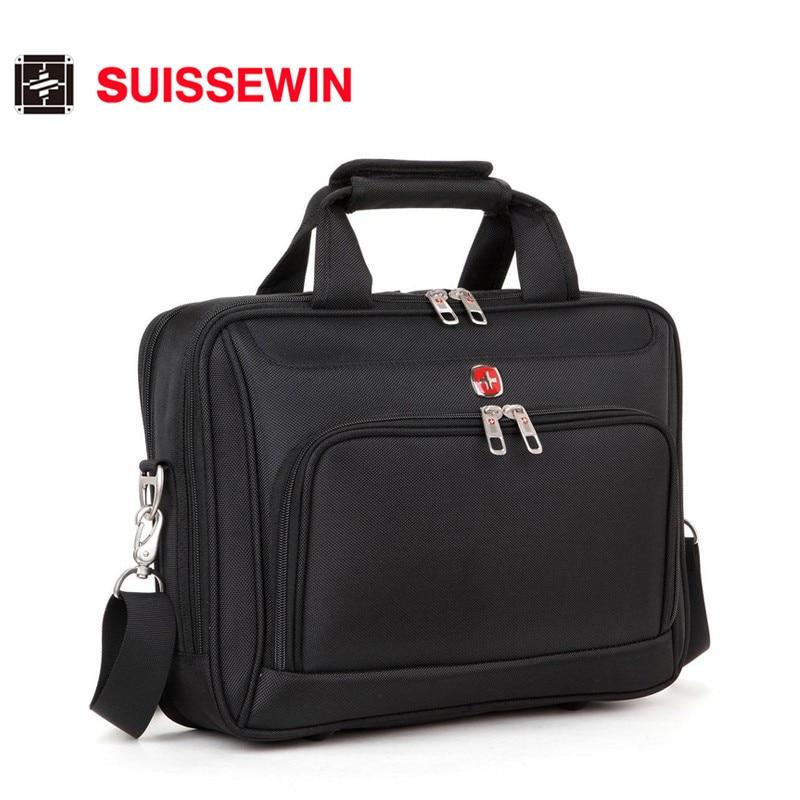 Suissewin Waterproof Laptop Bag 15.6 -17.3 Inch BIG Messenger Waterproof Computer Women Men Bag 15 -17 Inch Computer Bag