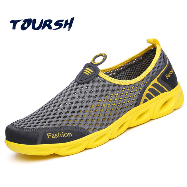 TOURSH Aqua Shoes Men Aqua Shoes Women Summer Beach Shoes Water Shoes For  Men Sports Sneakers