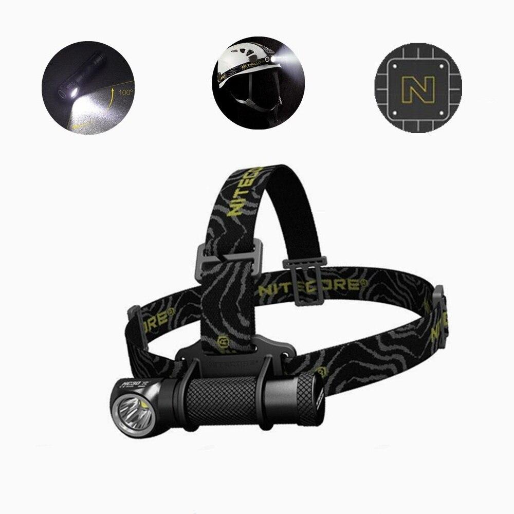Nitecore HC30 LED faro cree XM-L2 U2 1000 lúmenes Full Metal uniboy ancho de haz óptica lámpara principal de 18650 batería