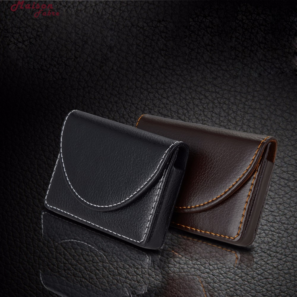 Maison Fabre plånbok män läder plånbok män äkta läder - Plånböcker - Foto 3