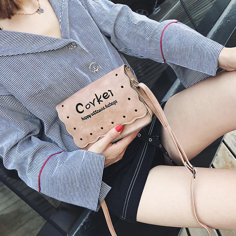 Модные женские Искусственная кожа Сумка Женская сплошной цвет молнии площадь сумка # F