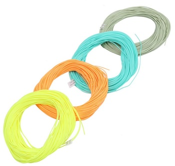 30 meters floating fly fishing line for catch water surface fish use fly hook