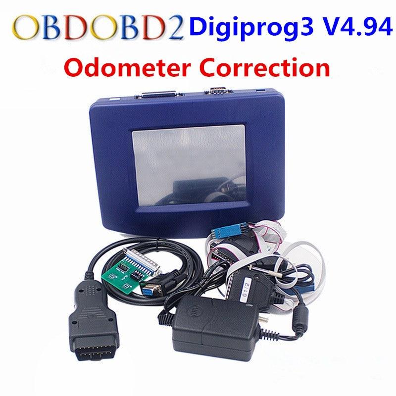 Digiprog 3 OBD Version outil de Correction d'odomètre Digiprog III unité principale seulement Digiprog3 programmeur de kilométrage OBD2 ST01 ST04 câble
