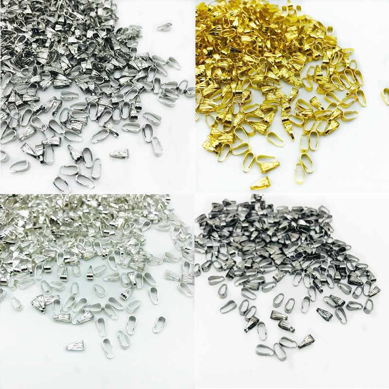 100pcs 3*7mm Jewelry Findings Clasps Hooks Solation Jewelry Beads DIY Jewelry Accessories for Necklace Accessories Wholesale