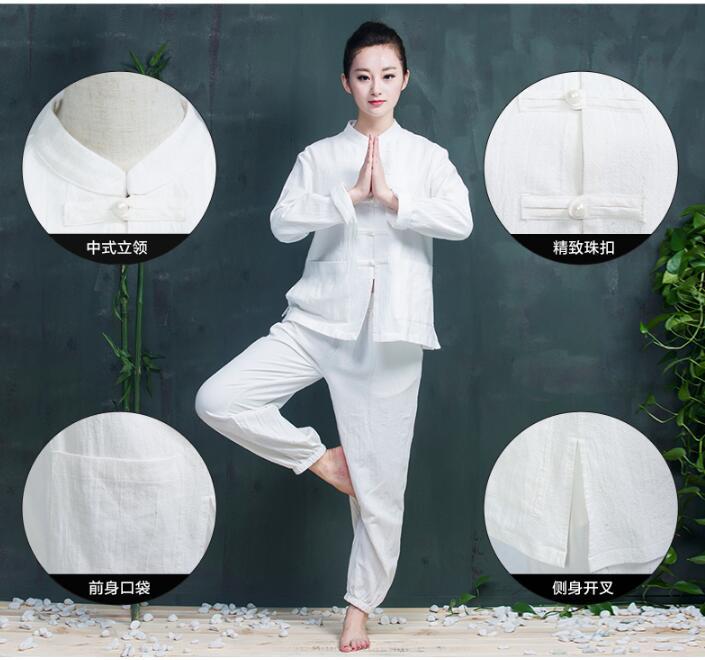 100 cotton beauty salon uniforms long sleeve massage for Spa uniform cotton