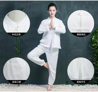 100 Cotton Beauty Salon Uniforms Long Sleeve Massage Uniform Suit Breathable Thai SPA