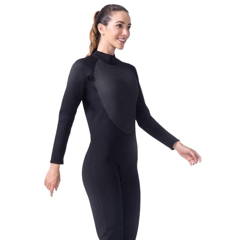Lifurieux 3 MM femmes combinaison de plongée corps complet néoprène surf combinaisons de protection contre les éruptions cutanées combinaison équipement de natation garder au chaud - 3