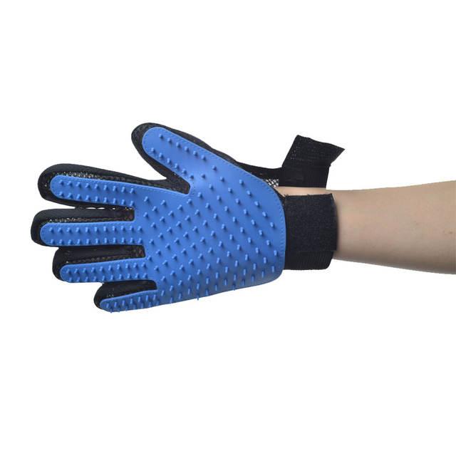 Pet's Grooming Brush Glove