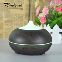 TBonlyone 300ML Wood Air Humidifier Essential Oil Diffuser For Home Aroma Lamp Aromatherapy Electric Aroma Diffuser
