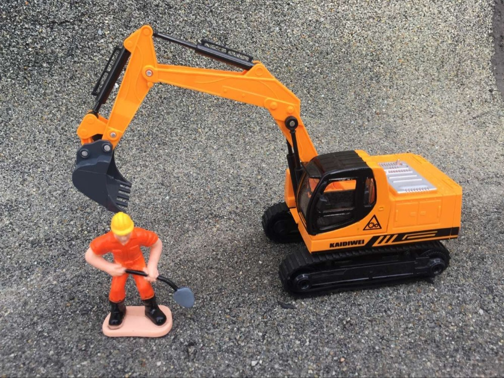 KDW Engineering car series of children s toys Alloy car model Crawler Excavator Gift box packing
