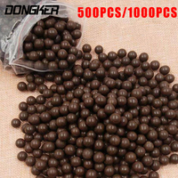 1000pcs Lot Slingshot Beads Bearing Hunting Slingshot Ammunition Ball Of Mud Beads Ammo Solid Drawing Board