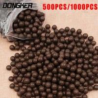 1000pcs Lot Slingshot Beads Bearing Hunting Slingshot Ammunition Ball Of Mud Beads Ammo Solid Drawing Board