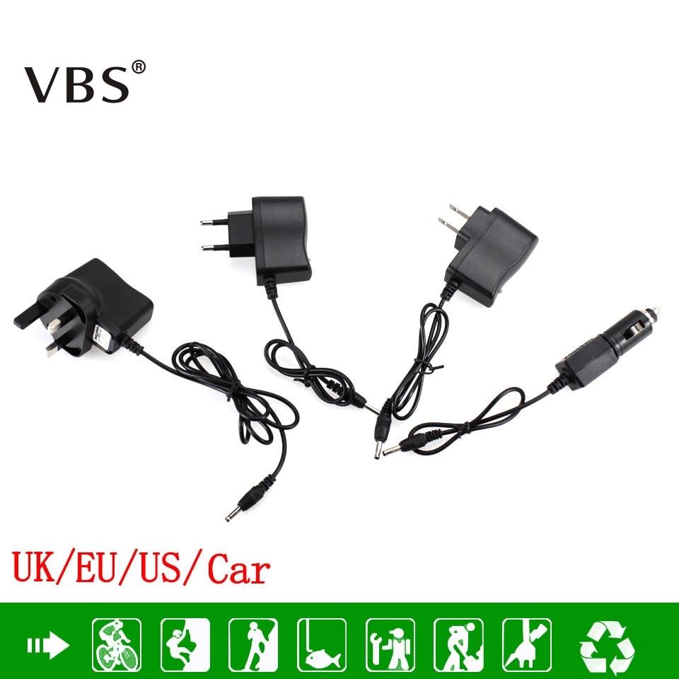 AC Power Charger Adapter Port To 18650 Battery Flashlight Headlamp Supply Converters Wire EU US UK Car Plug Free shipping 10pcs free shipping fan6755wmyb fan6755 6755 sop 7 ac dc converters lcd power management p new original
