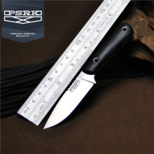 PSRK Swordfish 12C27 Blade G10 Handle Fixed Knife EDC Camping Tools Small Straight Blade Sharp 59HRC Outdoor Portable edc Knife
