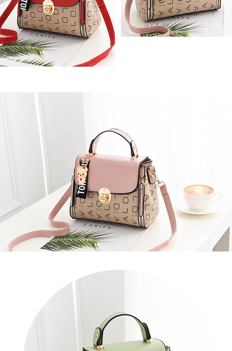Popular Woman Handbags Fashion Leather Messenger Bag Trendy new one-shoulder diagonal small square bag Bolsa Feminina louis gg 56