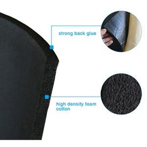 Image 2 - X AUTOHAUX 3mm/5mm/8mm/10mm עובי רכב קליטת קול רעש חום הגהה בידוד תא קצף כותנה Deadener Mat