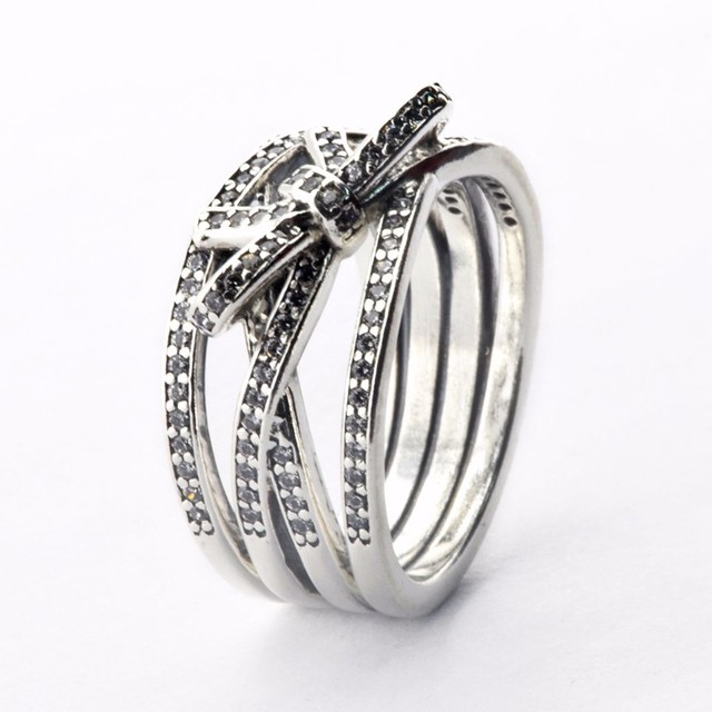 151518682 Compatible with brand jewelry delicate sentiments ring 100 925 Sterling  Silver rings diy making for woman