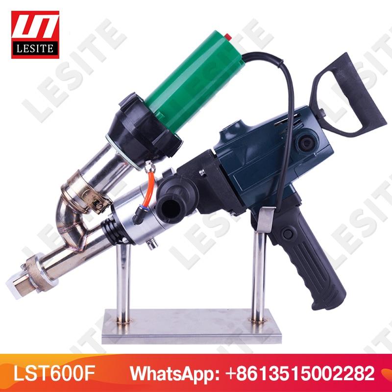 FREE SHIP Geomembrane Extruder Handheld Welder Semi Automatic Welding Extruder Plastic Solder HDPE Extruder For Plastic LST600F