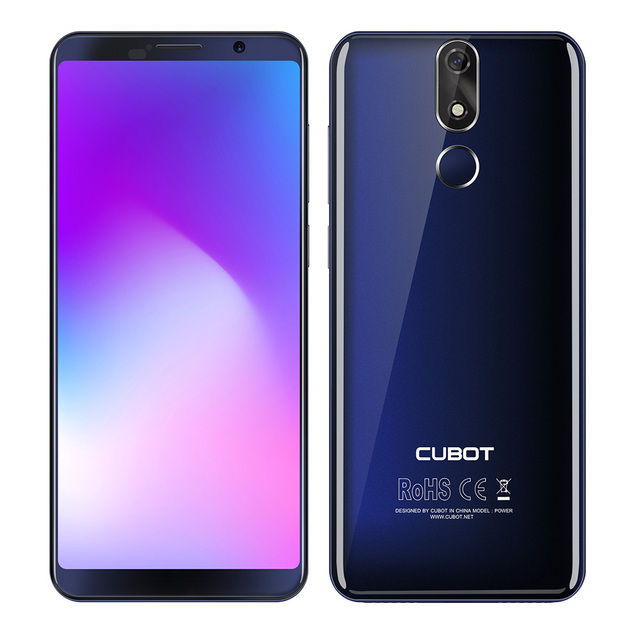 Refurbished CUBOT POWER 4G Smartphone Android 8.1 OS 5.99' MTK6763T Octa Core 2.5GHz 6GB RAM 128GB ROM 6000mAh Mobile Cellphones