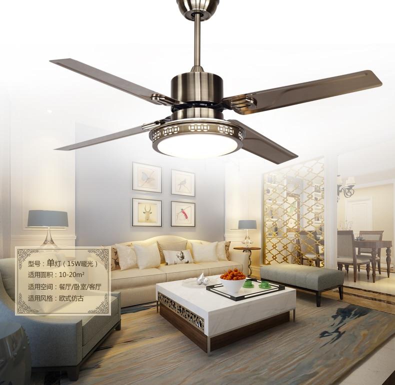 48inch Ceiling Fan Lights Led Bedroom Ceiling Lamp Fan Light