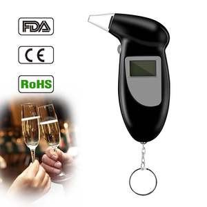 Detector Breathalyzer-Analyzer Test-Keychain Breathalizer-Breathalyser-Device Alcohol-Breath-Tester
