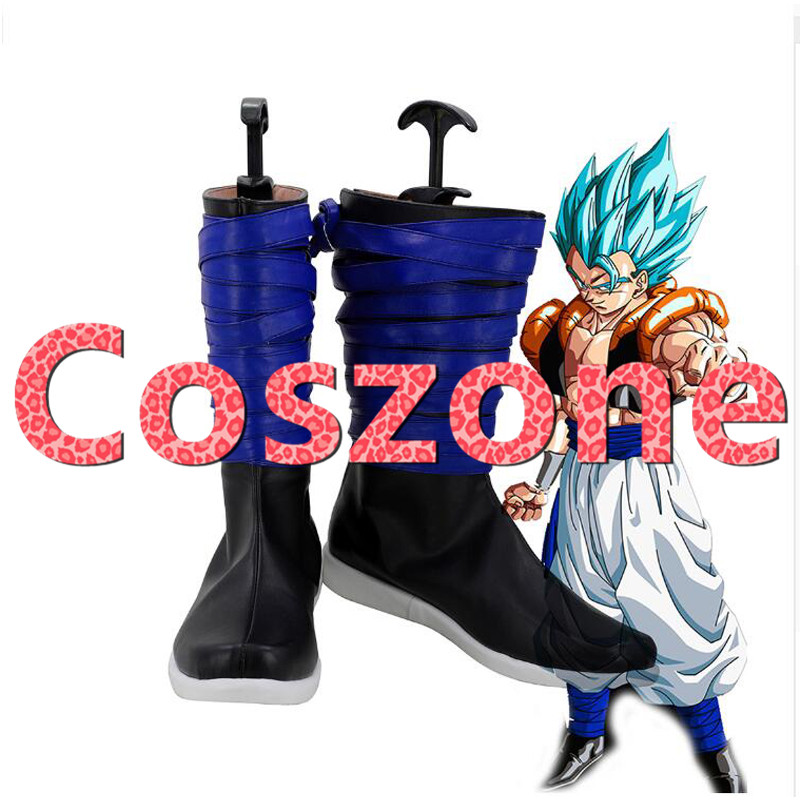 Dragon Ball Z Gogeta Cosplay Shoes Boots Halloween Cosplay Costume Accessories