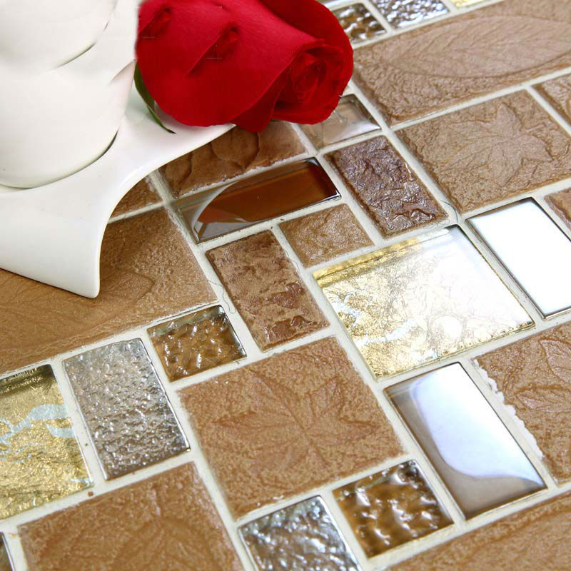 Porcelain Mosaic Decorative Tile Glass Backsplash Kitchen Mosaic Ceramic Tiles Crystal Glass Designs Bath Wall Art Mosaics 326 Sheet Bag Sheet Rubbersheet Manufacture Aliexpress