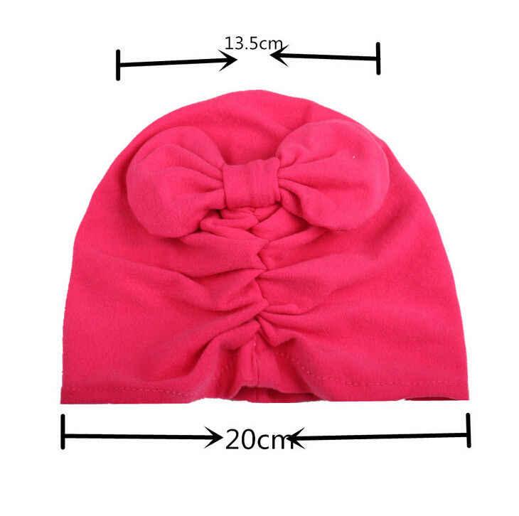 2017 Hot New Cô Gái Trẻ Em Bé Toddler Trẻ Sơ Sinh Winter Mềm Ấm Beanie Bông Bọc Cap Turban Hat