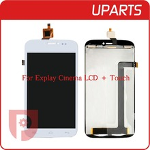 AAA High Quality For Explay Cinema LCD Display +Touch Screen Assembly LCD Digitizer Glass Panel Replacement Free Shipping
