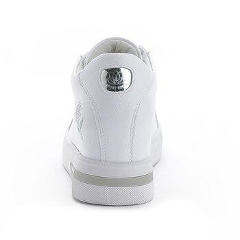 Zapatos De Cuña De Oro | Zapatillas De Cuero Elegantes De Primavera 2019 Para Mujer, Zapatos Casuales Blancos, Zapatillas De Cuña Doradas Y Plateadas, Plataforma Chaussure Para Mujer
