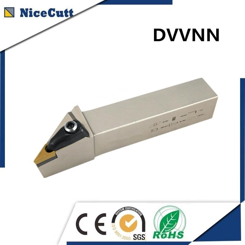 Livraison gratuite DVVNN2020K16/2525M16 Nicecutt pour VNMG insert porte-outil de tourLivraison gratuite DVVNN2020K16/2525M16 Nicecutt pour VNMG insert porte-outil de tour