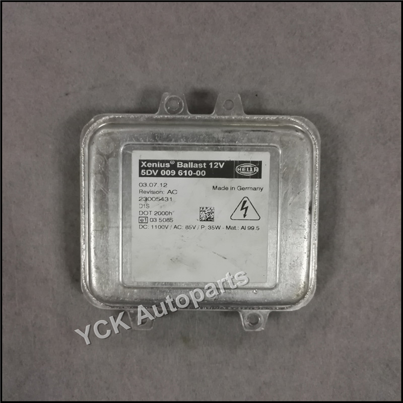 Wholesale Original 1PC D1S HID Xenon Headlight Ballast Computer Light Control 5DV 009 610-00 5DV00961000 (Genuine and Used) 1pc original q5 led driver led headlight drl ballast 8r0 907 472 b 8r0907472b 10045 17078 genuine and used