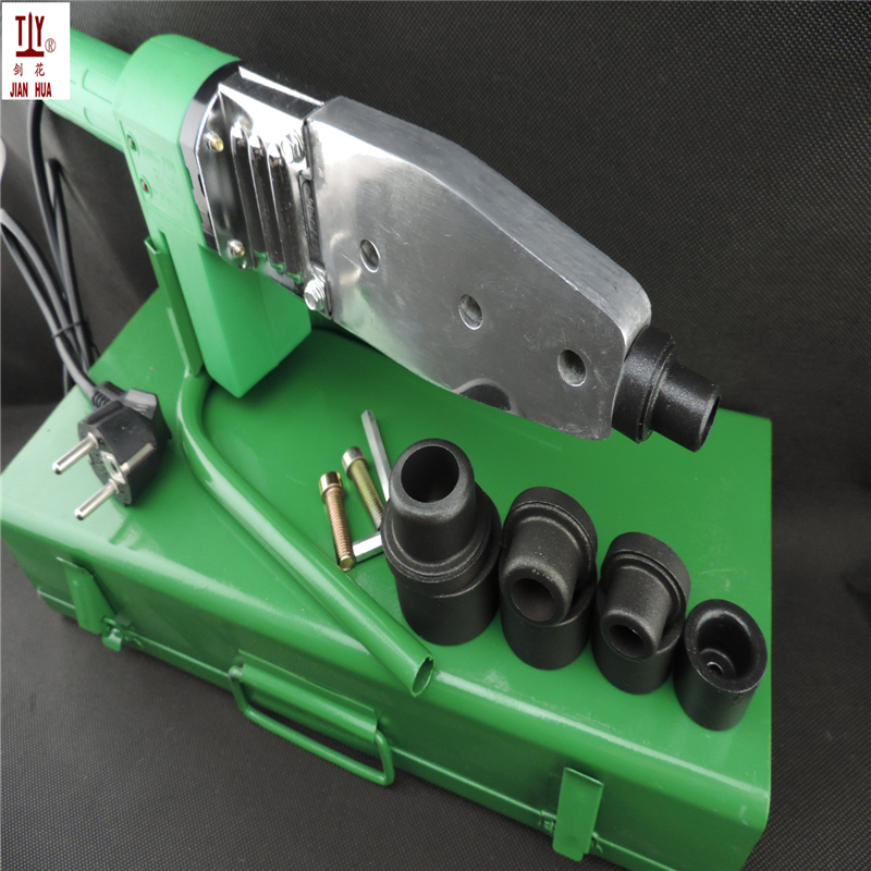 Free Shippng Teflon Coating DN16-32mm Head PPR Welding Machine, plastic pipe welding machine, welder machine AC 220V 800W free shipping plumber tool with 42mm cutter 220v 800wplastic water pipe welder heating ppr welding machine for plastic pipes