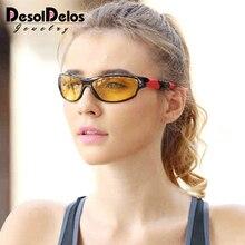 Night Vision Glasses For Headlight Polarized Driving Women Sunglasses Yellow Lens UV400 Protection Night Men Eyewear glasses