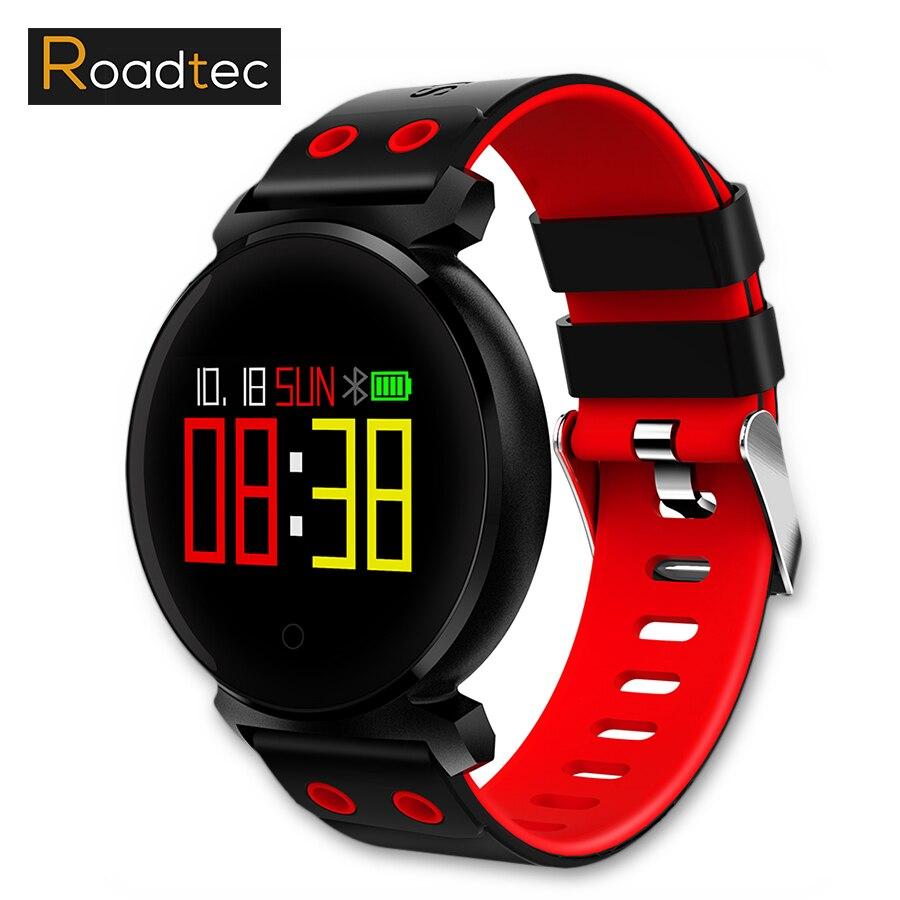 ROADTEC sport pulsomètre montre Smart bracelet moniteur de fréquence cardiaque montres sang pression poignet de remise en forme bracelet smart pulse montre