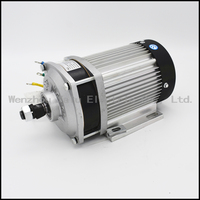 1500W DC48V60V72V Brushless Motor BM1418ZXF electric bicycle Motorcycle Electric kit Motorcycle Motor wIth Throttle Handle