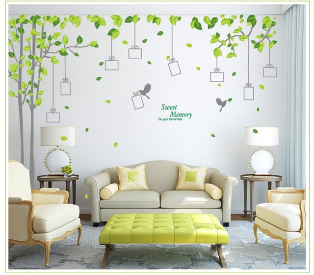 Full House photo frame silver green tree living room bedroom TV ...