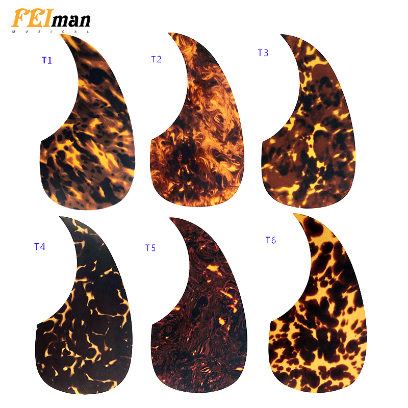 Pleroo Guitar Parts Acoustic Guitar Pickguard Quality Self-adhesive MA5 Style Pick Guard Sticker For 40
