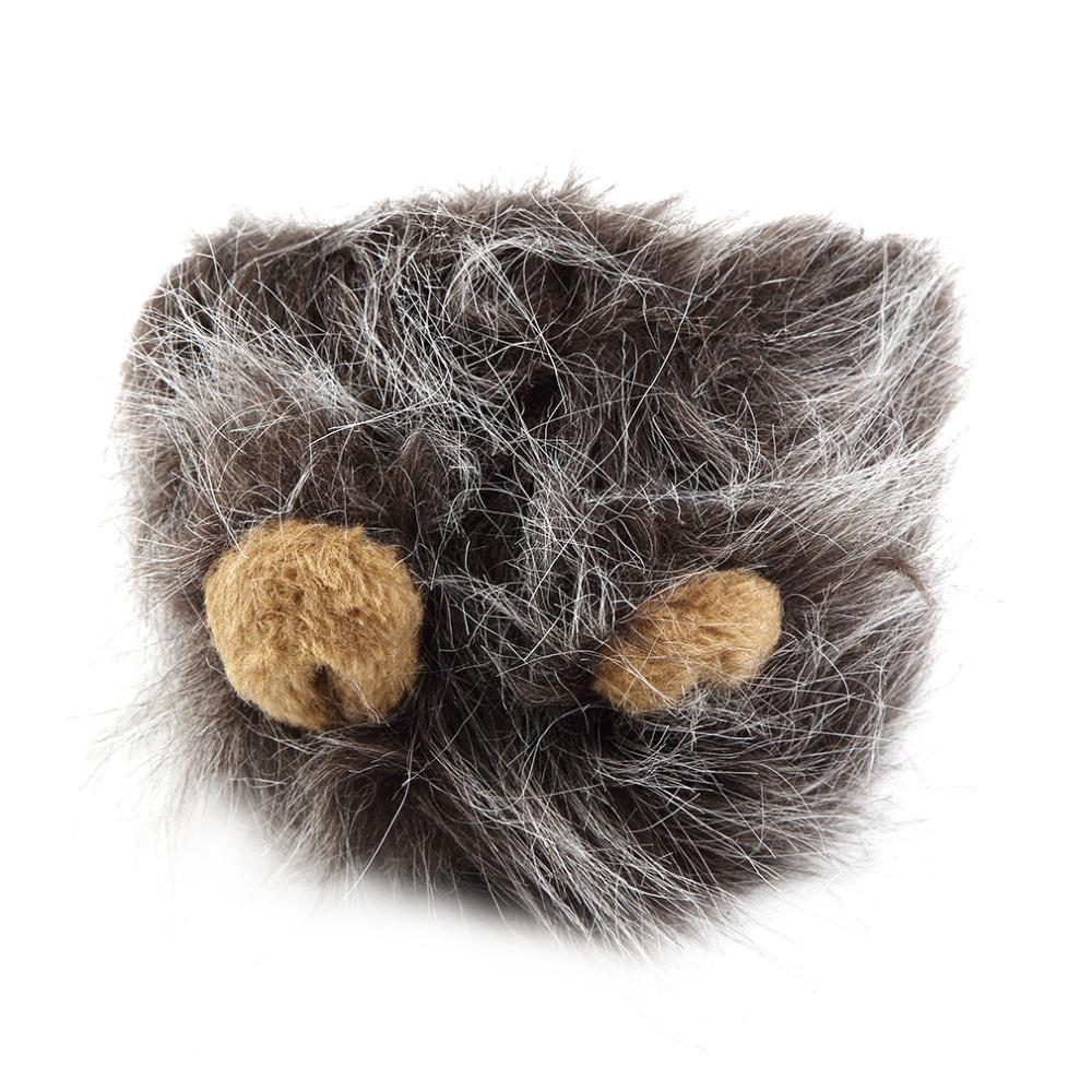 1 st Lovely Pet Costume Lions Mane Winter Warm Pruik Cat Halloween - Producten voor huisdieren - Foto 4